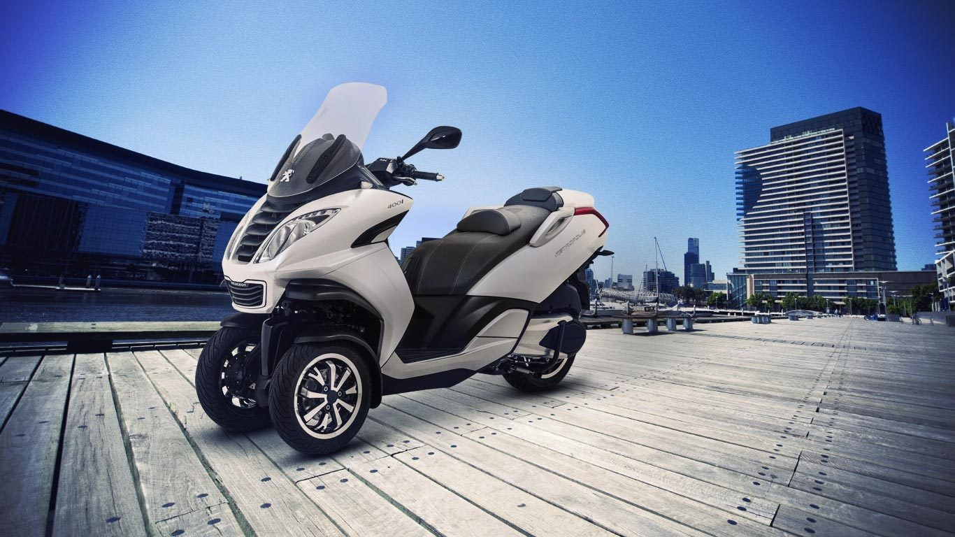 Piaggio MP3 350: Король трехколесных мотоциклов