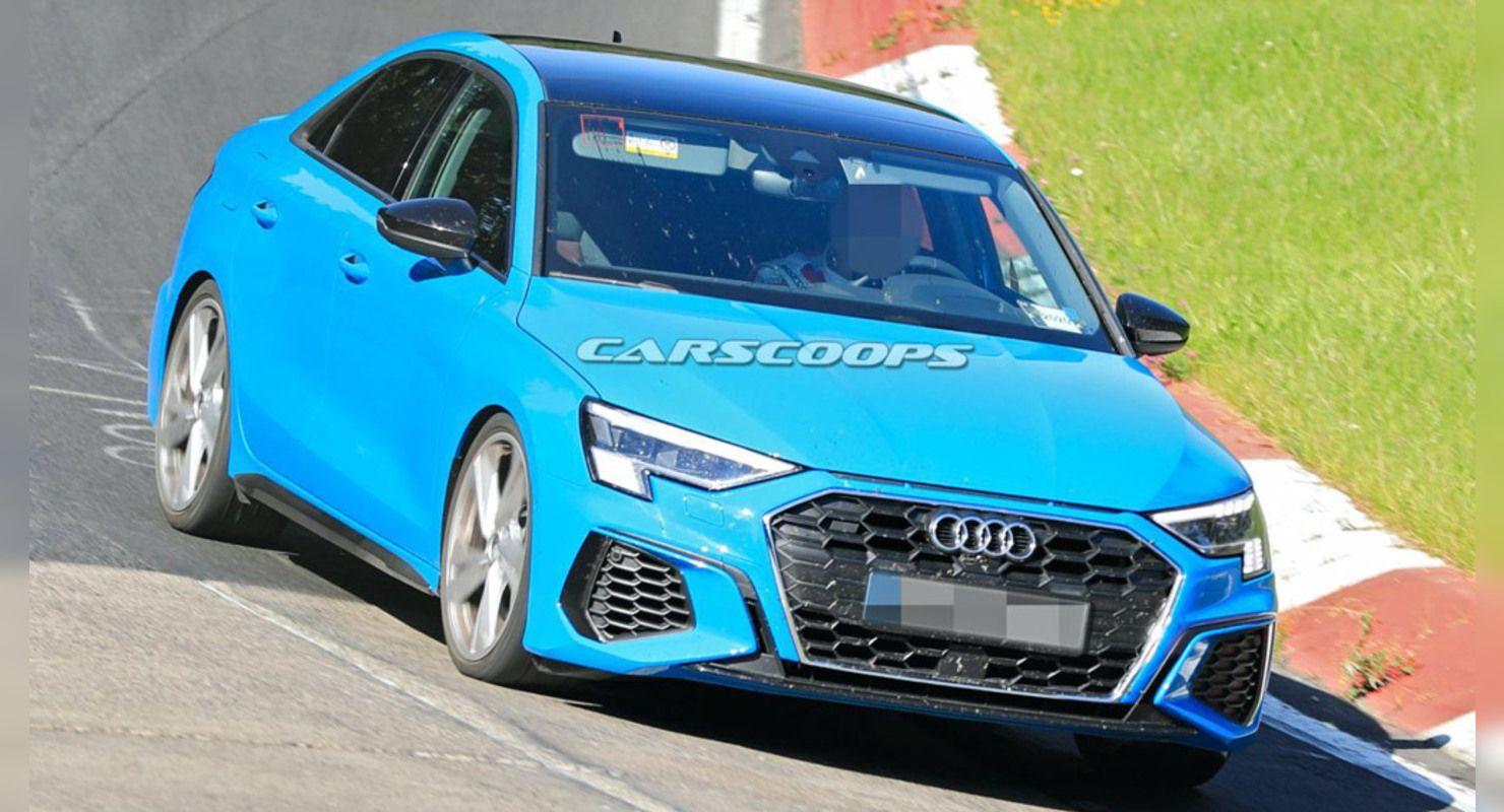 Новый Audi S3 засветился с кузовом седан: что о нем известно