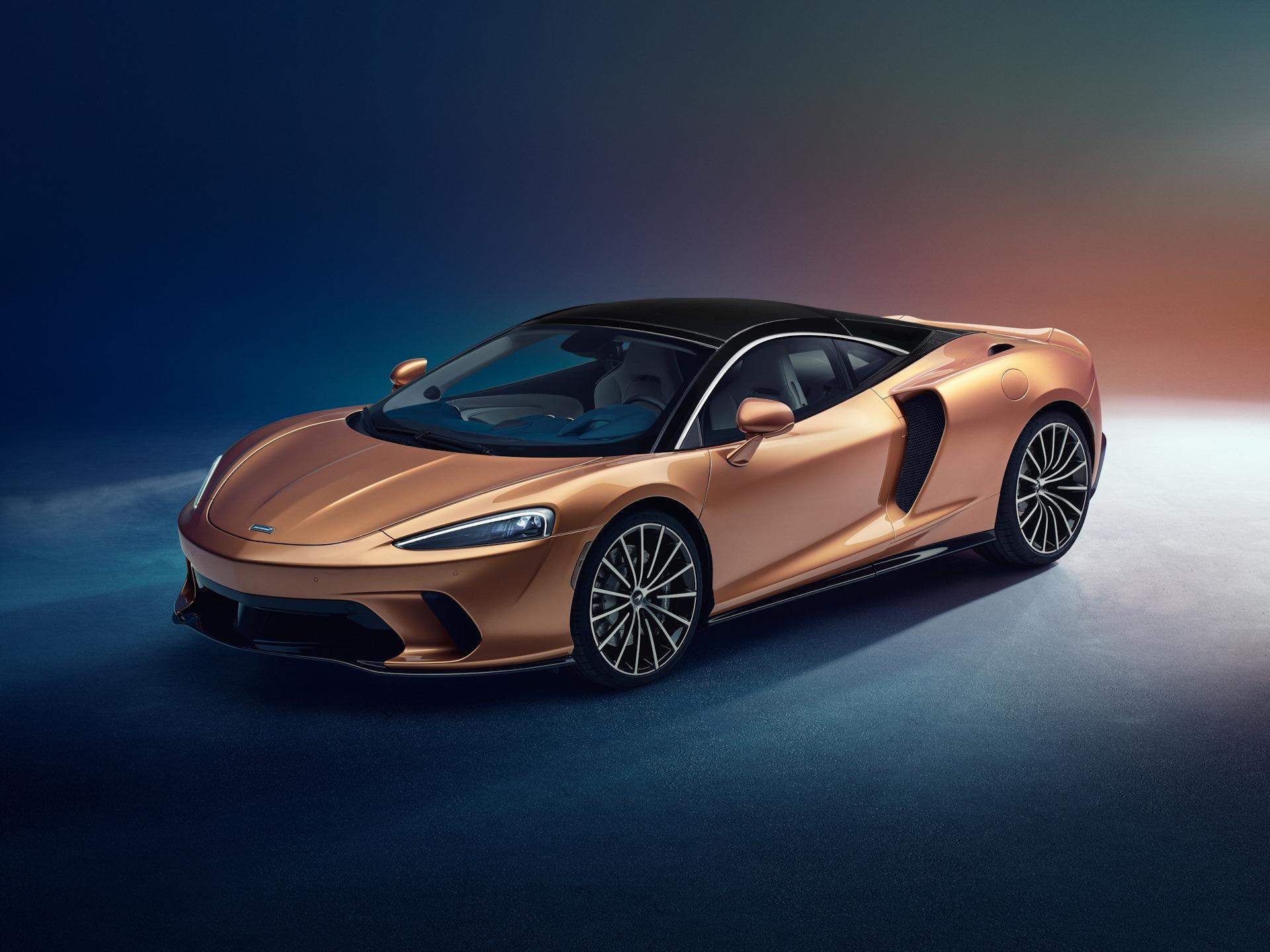 Новый McLaren GT